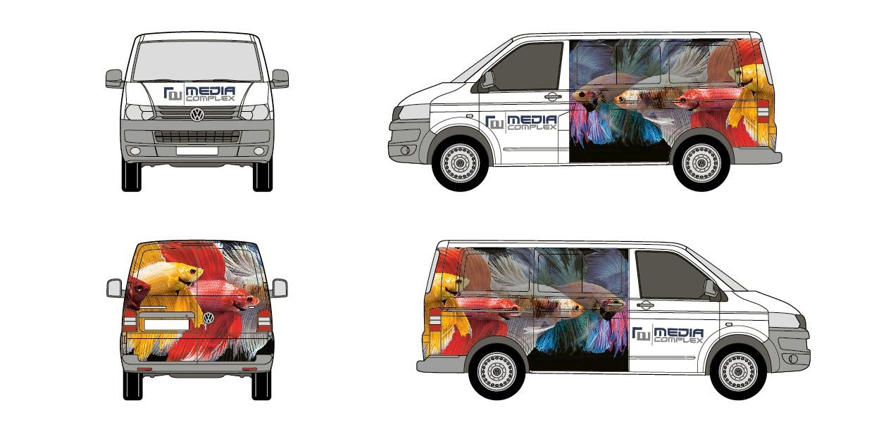 Teilfolierung VW Bus