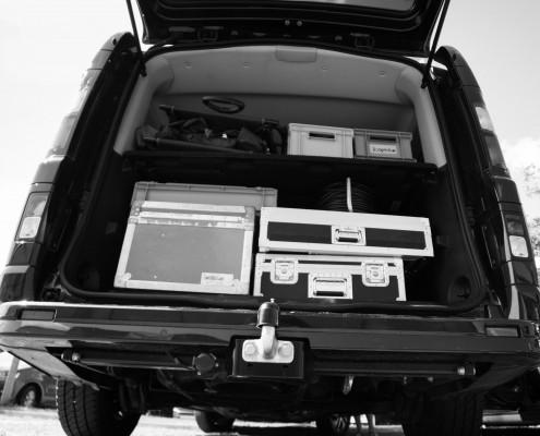 Filmproduktion Filmequipment
