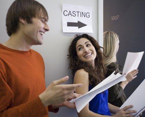 Casting für Filmproduktionen