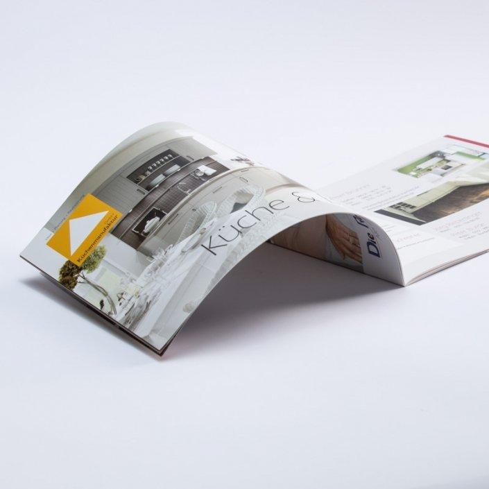 Imagebroschüre Design und Druck