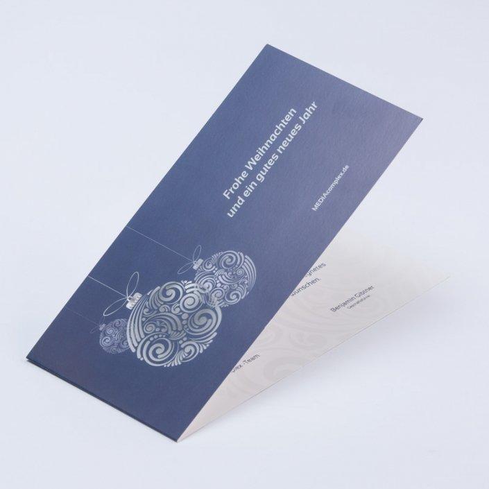 Partieller UV-Lack auf Glückwunschkarten oder Einladungen